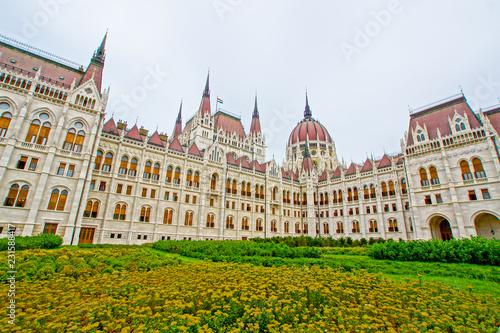 Fotobehang Oost Europa ハンガリーの国会議事堂