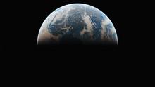 Sunrise From Planet Orbit