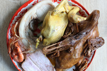 Steamed Pot-stewed Duck, Boile...