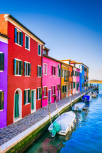 Burano, Colorful Water City In...