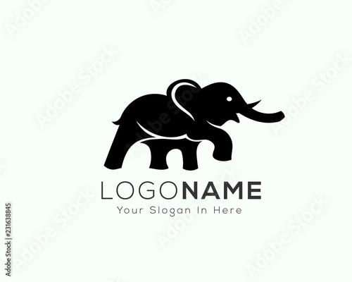 859e5970ed40e standing elephant logo with confidence design inspiration - Buy this ...