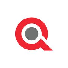 Letter Q Initial Graphic Design Template Vector Illustration