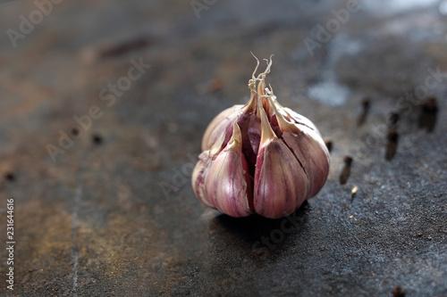 Fototapeta Czosnek, aromatyczna przyprawa. obraz