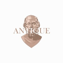 Antique Sculpture Logo
