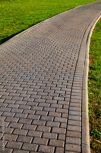 Fotografía  Stone path in the park