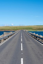 Churchill Barrier No 3 Road, Built In World War II To Protect The Natural Harbour Of Scapa Flow, South Ronaldsay, Orkney, Scotland, United Kingdom, Europe
