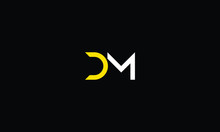 LETTER D AND M LOGO FOR LOGO D...