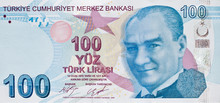 Turkish 100 Lira Banknote