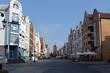 Straße in der Altstadt von Elblag