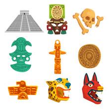 Maya Civilization Ethnic Symbo...