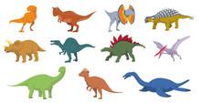 Dinosaurs Vector Illustration ...