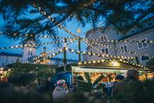 Christmas Market In Salzburg R...