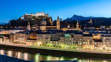 Night In Salzburg Panorama