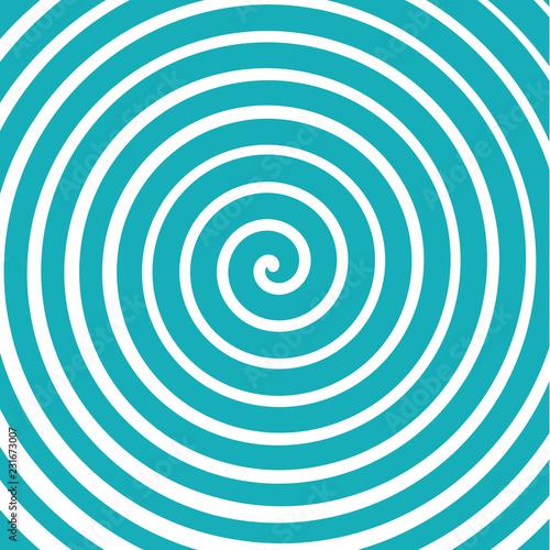 Door stickers Spiral fond abstrait