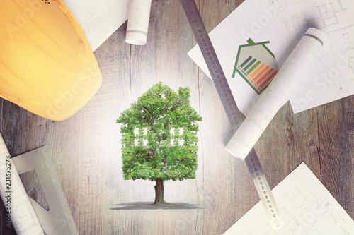 фотография  projet immobilier,performance énergétique,écologie