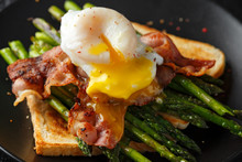 Benedict Poached Duck Egg With...