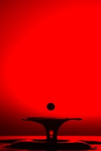 Closeup Shot Of Splash Of Tran...