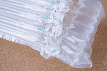 Translucent Air Packaging, Protection Of Goods, Plastic Packaging
