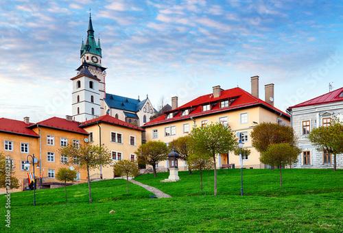 Foto op Aluminium Historisch geb. Slovakia - historic medieval mining town of Kremnica.