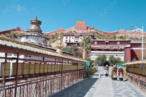 Foto op Plexiglas Historisch geb. Drepung monastery in Tibet