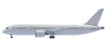 Commercial Jet Plane. 3D Rende...