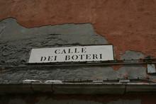 Venice, Street Plate