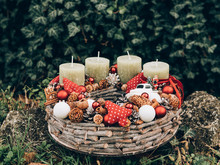 Advent Wreath For The Pre Chri...
