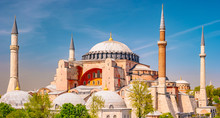 Hagia Sophia In Summer, Istanb...