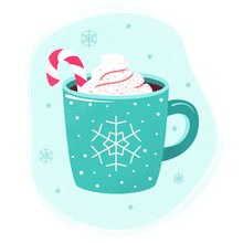 Winter Hot Drink Cup Cocoa  Ho...