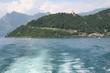 Veduta dell'isola dal traghetto
