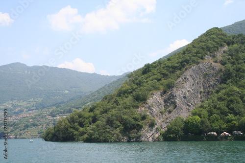 Fotografie, Obraz  Isola sul lago