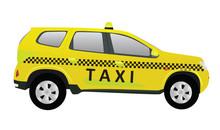 Taxi. Vector Illustration
