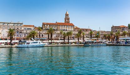 Diocletian's Palace. Split, Croatia.