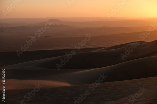 Deserto de Huacachina Canvas Print