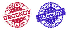 Grunge URGENCY Seal Stamps In ...