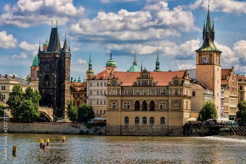 Tuinposter Centraal Europa Prag