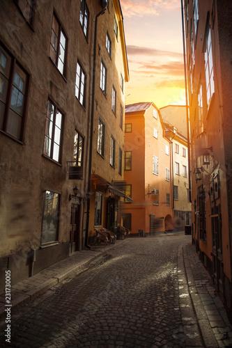 Foto auf Gartenposter Stockholm Stockholm, Sweden cityscape