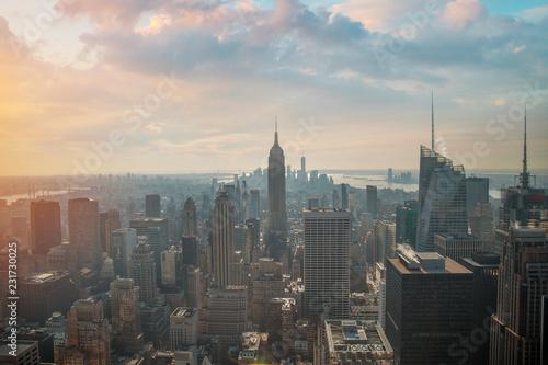 Foto op Plexiglas New York TAXI New York City Manhattan