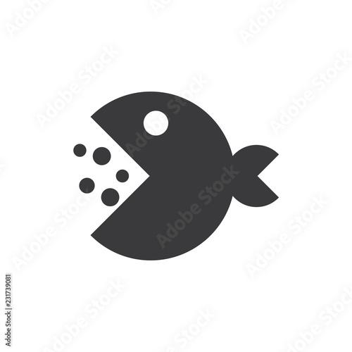 Valokuvatapetti Pacman vector icon
