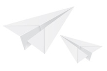 White Paper Airplanes