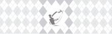Fabric Pattern Golf Illustration