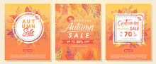 Autumn Special Offer Banners W...