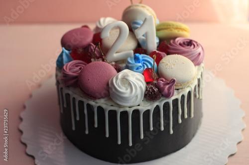 Terrific Cupcake Cake Dessert Food Sweet Pink Cupcakes Icing Baked Funny Birthday Cards Online Inifofree Goldxyz