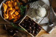 Autumnal Recipe: Risotto With Chestnuts And Pumpkin