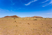 Namibia Beautiful Landscape During Winter