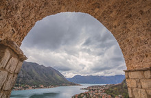 View Of The Kotor Bay And Old ...