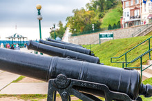 Cannons On The Promenade