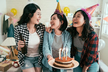 Girl Best Friends Birthday Party At Home.