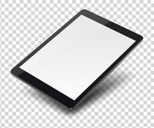 Tablet Pc Computer With Blank ...
