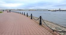 River Scenery In St. Petersburg, Russia